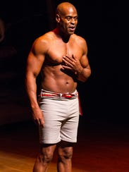 Actor and playwright Tommie J. Moore stars in the Delaware