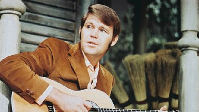 Glen Campbell released a series of hit songs in the 1960s.