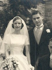 John Murray Convery, Jr and Eileen Marie Putek were married on May 18, 1957 at Christ the King Catholic Church in Haddonfield, New Jersey.