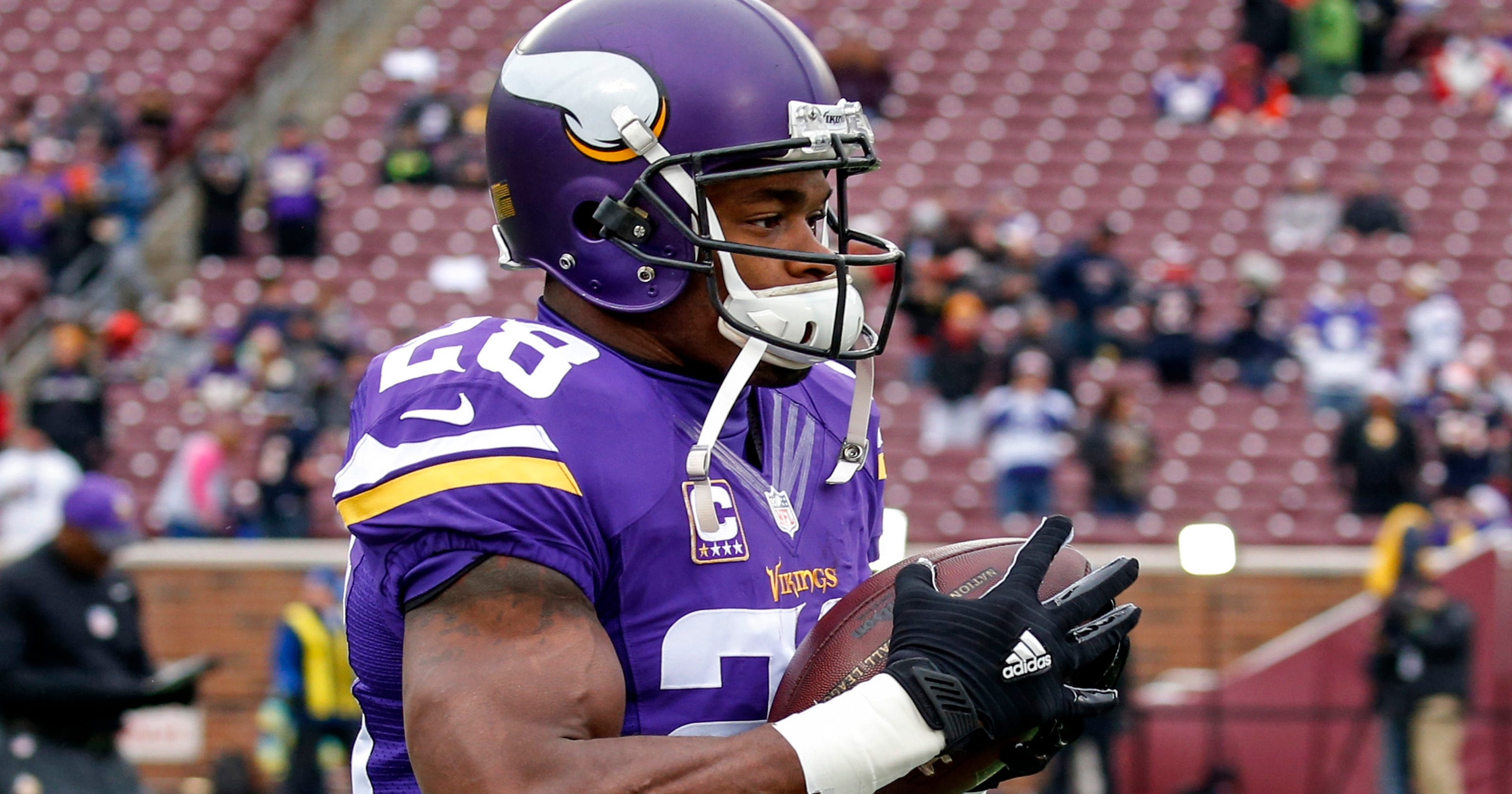 Nfl Injuries Vikings Adrian Peterson Misses Another