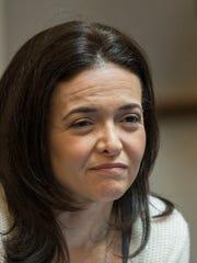 Facebook executive Sheryl Sandberg