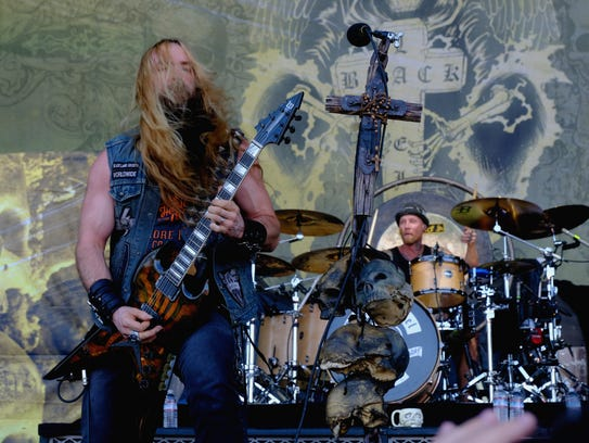 Black Label Society, in this photo at Ozzfest 2016