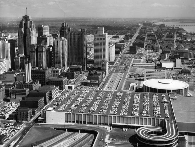 Detroit S Cobo Center Through The Years