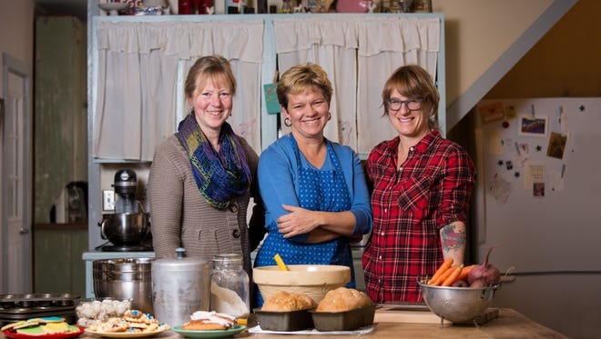 A judge's decision that a state ban on the sale of home-baked good was unconstitutional was a sweet victory for the case's three champions (left to right) Dela Ends, Brodhead; Lisa Kivirist, Browntown; and Kriss Marion, Blanchardville.