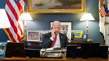 A look inside one of Biden's final days in office
