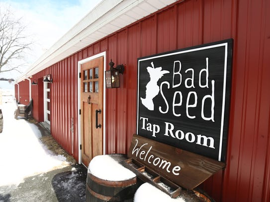Bad Seed Cider Co in Highland on Thursday, February