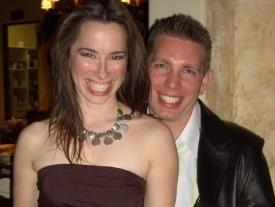 Annie (left) and Jason Fairbanks are pictured.