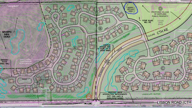 Neumann Development is proposing a 126-unit condominium project north of Highway K on property known as the North 40.