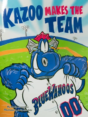 """Author, Mandy Fernandez, enlisted the help of Pensacola News Journal Cartoonist, Andy Marlette, to illustrate new children's book, """"Kazoo Makes the Team."""""""