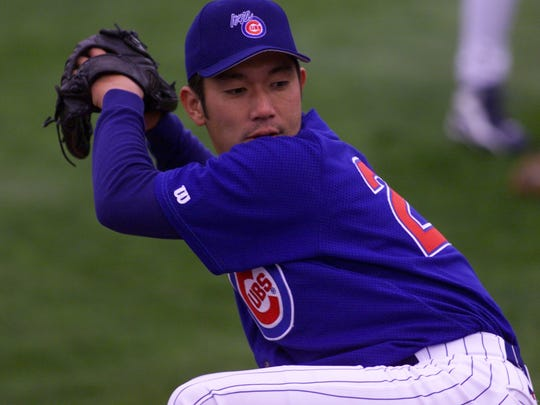 From 1999: Hideo Nomo gets the opening day start for the Iowa Cubs.