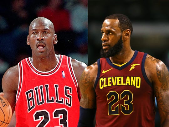 The Michael Jordan vs. LeBron James debate will never end. Jordan played in a better era.