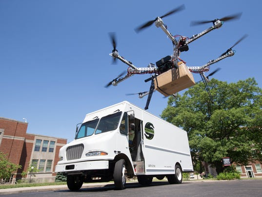 New Postal Service Fleet Could Include Drones