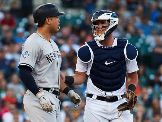 MLB: Game Two-New York Yankees at Detroit Tigers