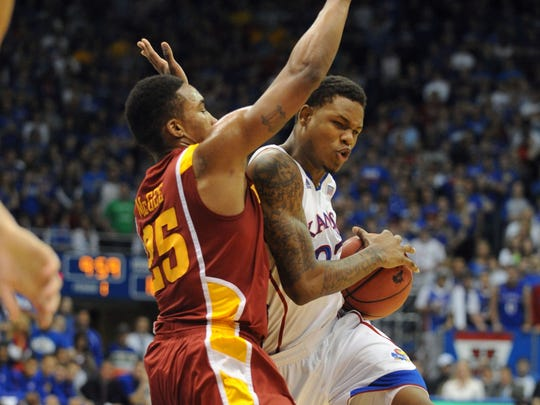 Iowa State guard Tyrus McGee said he did foul Ben McLemore of Kansas late in the game Jan. 9, 2013.