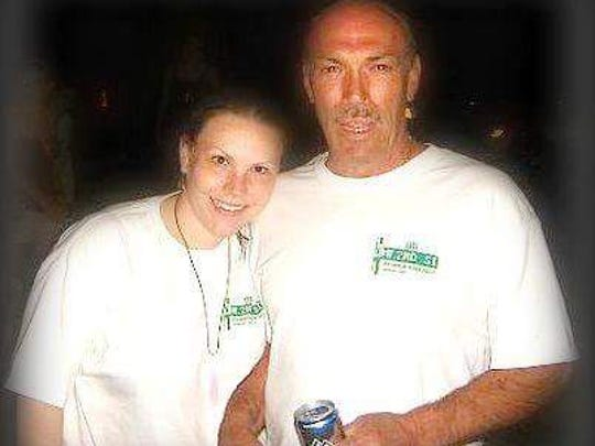 Nicole Petrucci and her dad, Danny.