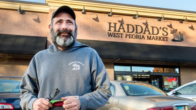 Mark Wrhel, the former owner of Haddad's West Peoria Market, is now the general manager after selling the century-old grocery store to a businessman in northern Illinois.