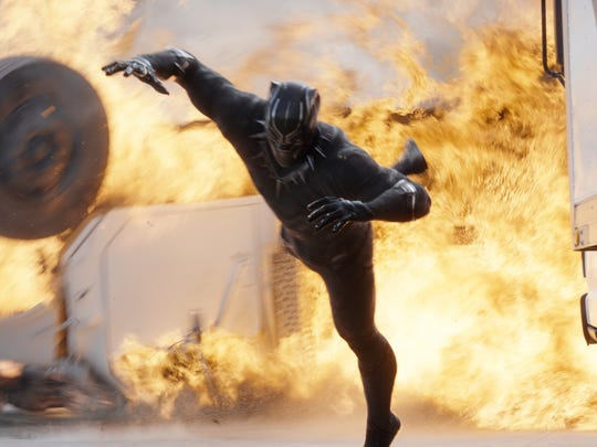 Chadwick Boseman's Black Panther sees some serious