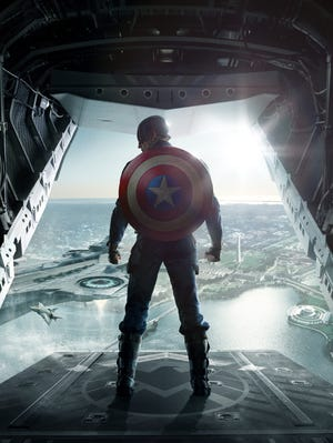 """Steve Rogers and S.H.I.E.L.D. engage in big-screen action in a new """"Captain America: The Winter Soldier"""" movie trailer."""