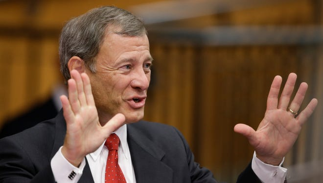 Supreme Court Chief Justice John Roberts is one of two justices holding the key to Obamacare in his hands.