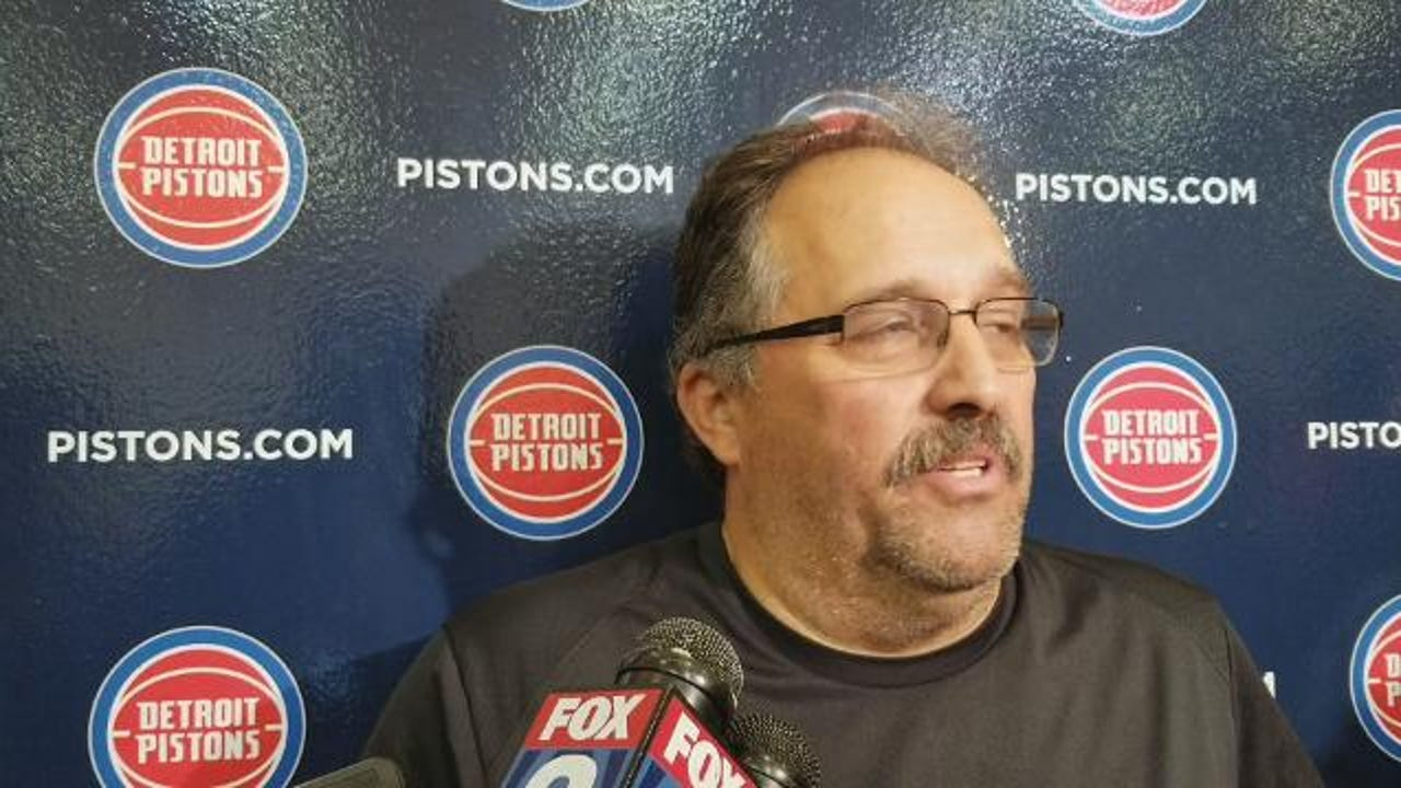 Pistons coach Stan Van Gundy gives an overview on team's fourth day of training camp.