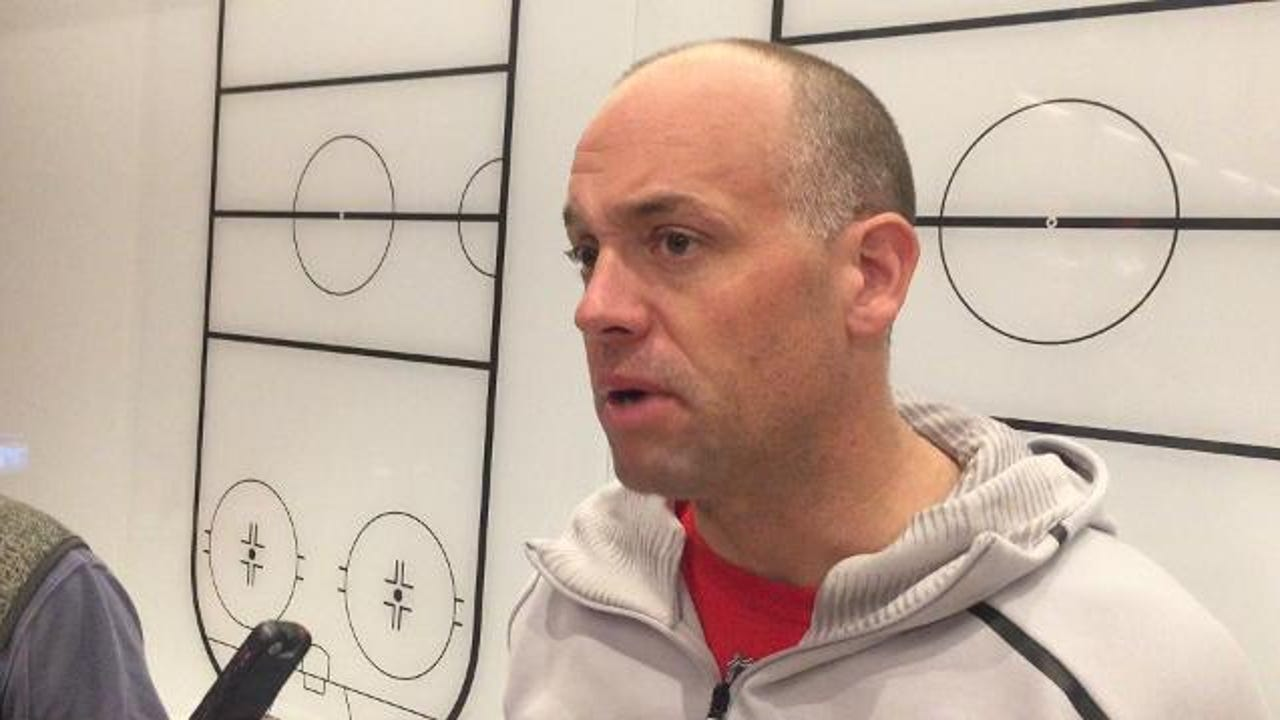 Red Wings coach provides an update on the defenseman's health.
