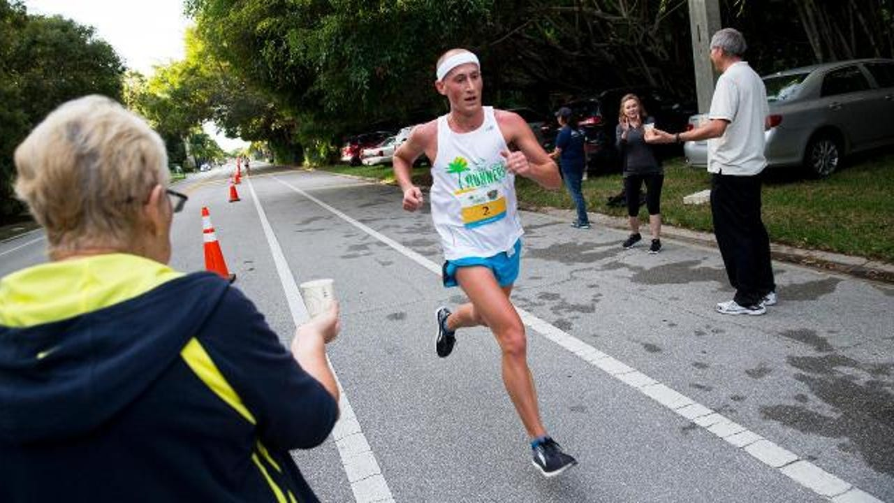 Thousands of runners came out to participate in the Naples Daily News Half Marathon in downtown Naples on Sunday, Jan. 15, 2017.