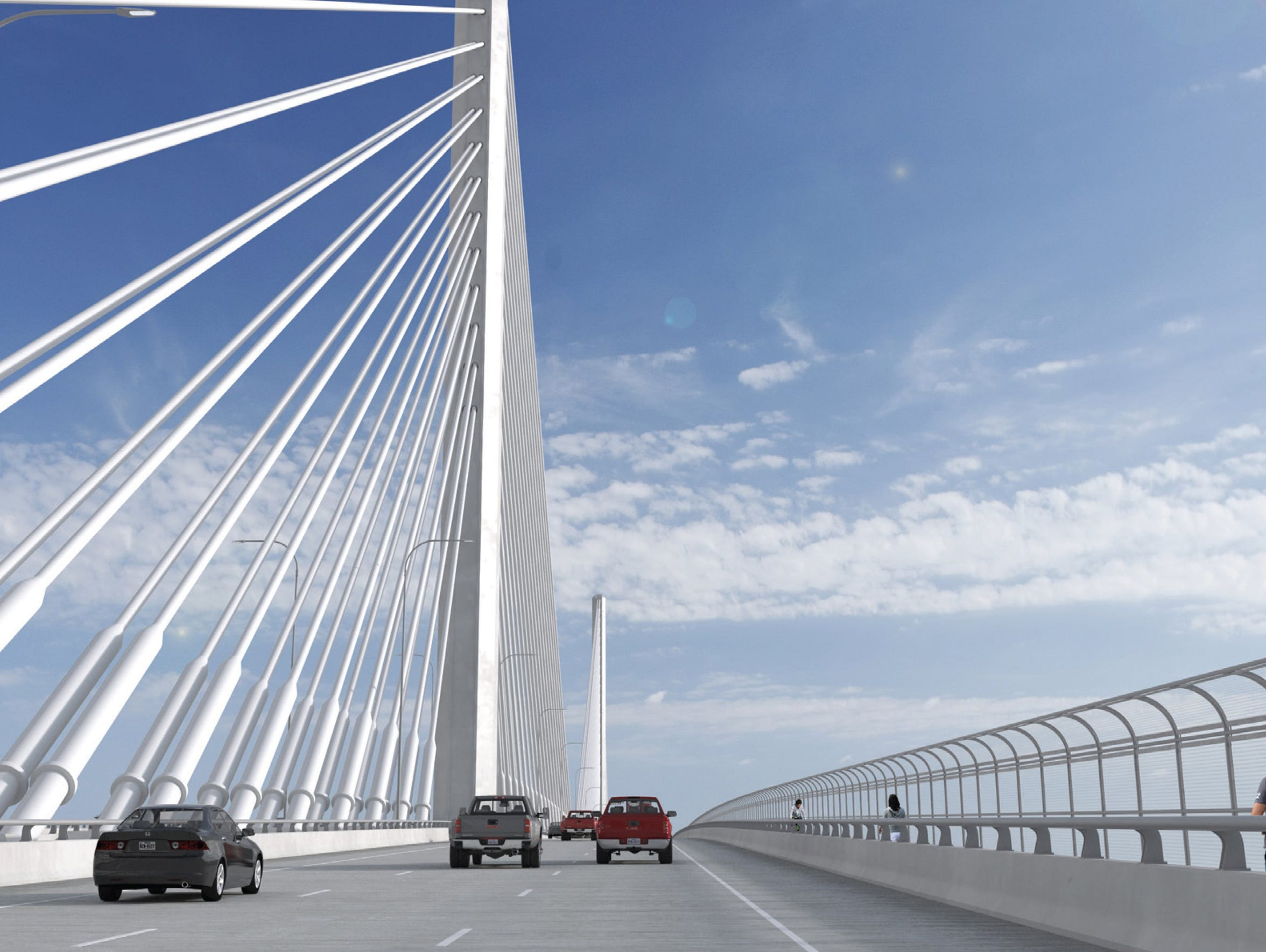 Port officials say construction of the span that will