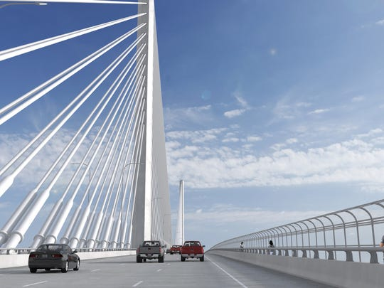 Port officials say construction of the span that will replace the Harbor Bridge could get underway as early as mid-April. The project is expected to take about five years to complete.