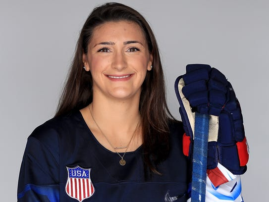 Megan Keller of the United States Women's Hockey Team