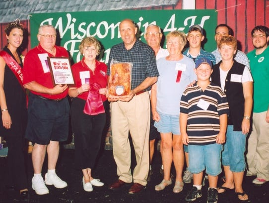 The Feuchts are joined by then Wisconsin Governor Jim