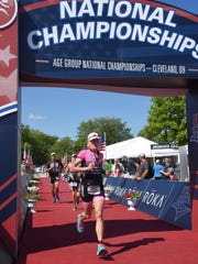 Linda Robb winning at nationals