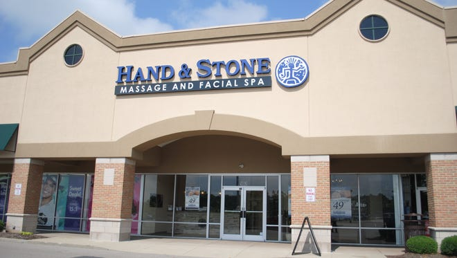Hand & Stone Massage and Facial Spa opened in Deerfield Township in late June.