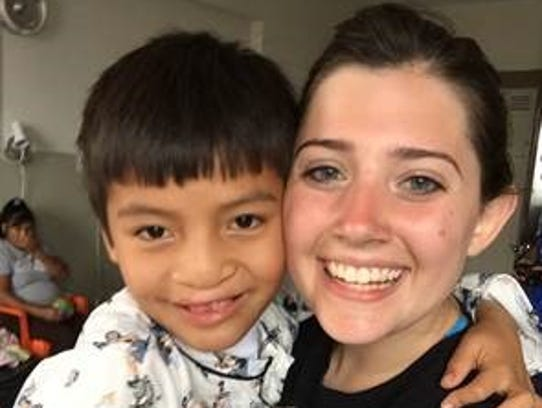 Julia Hadley graduated from Mount Saint Mary Academy