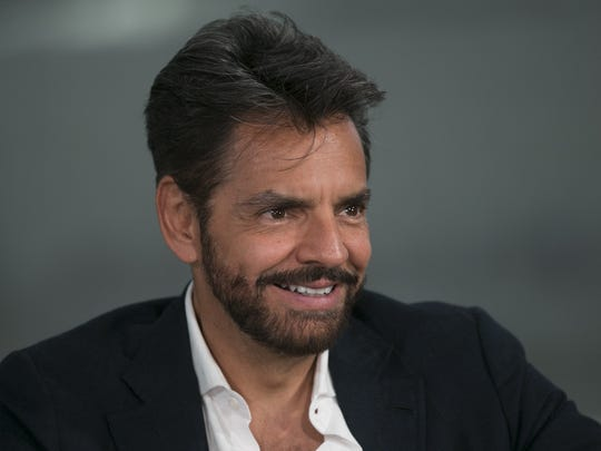 Eugenio Derbez visits The Arizona Republic studio on