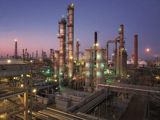 Citgo Refinery, Cumene Unit, East Plant One in Corpus Christi. Photo from Citgo.