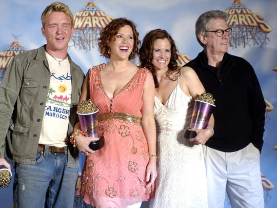 """""""The Breakfast Club"""" cast members Anthony Michael Hall"""