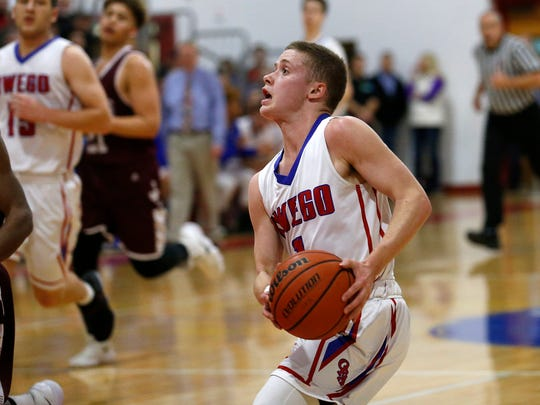 Owego junior Christian Sage brings an aggressive mindset to the point guard position.