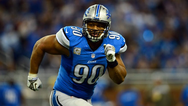 Lions DT Ndamukong Suh is entering his fifth NFL season.