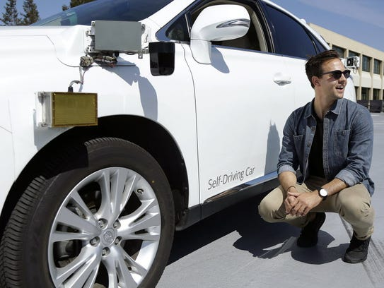 Brian Torcellini, Google team leader of driving operations,