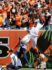 A.J. Green could break Sunday's game open for the Bengals.