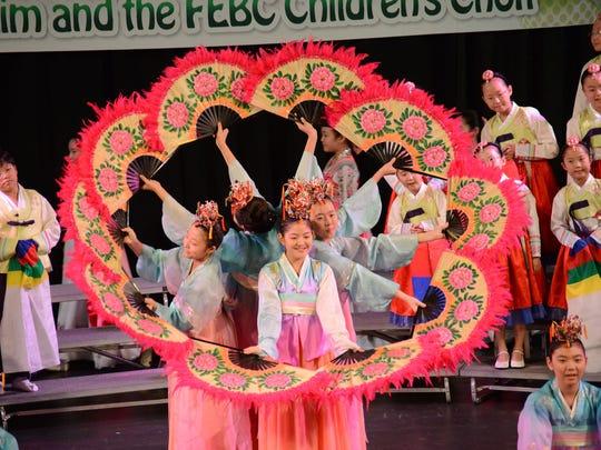 The acclaimed FEBC Korean Children's Choir performs Sunday at Belhaven University.