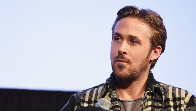 Actor/director Ryan Gosling partakes in 'A Conversation With Ryan Gosling' during 2015 SXSW Music, Film + Interactive Festival at Austin Convention Center on March 13, 2015, in Austin, Texas.