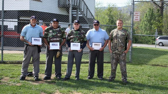 Andrews senior Isaac Cunnigham organized a fundraiser Thursday for the Wounded Warrior Project.