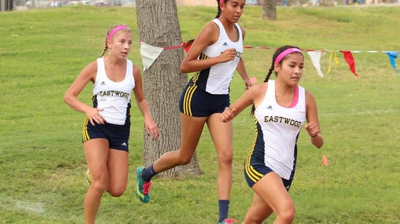 The Eastwood Troopers won its fourth straight district title and will compete in the Region 1-6A Meet in Lubbock on Monday.