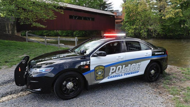 A Carroll Township Police cruiser, which will be available to view at the Touhc-A-Truck event at Northern High School on May 21.