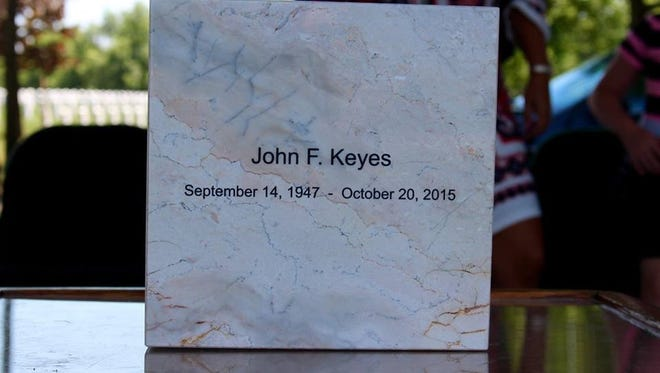 """John """"Jack"""" Keyes was buried Saturday in Arlington National Cemetery in recognition of his service in the U.S. Army during the Vietnam War."""