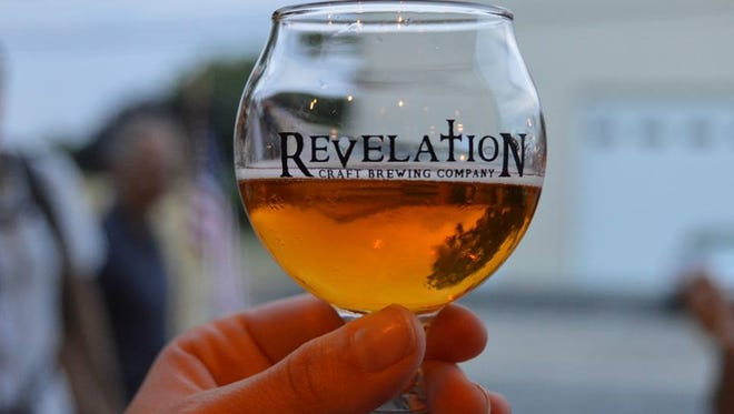 Trying out Delaware's newest brewery, Revelation Craft Brewing Company.