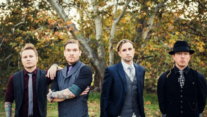 """Hard-rock band Shinedown headlines the """"Carnival of Madness"""" Tour on Wednesday at the Amphitheater at The Wharf in Orange Beach, Alabama."""