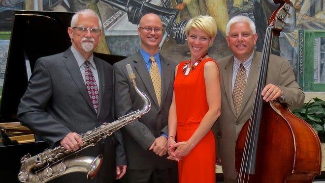 Paul Keller AT SUNDOWN quintet performs at the Plymouth Elks Sept. 27.