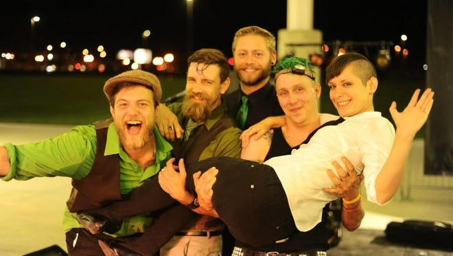 Stone Clover will perform Saturday night in downtown Milford